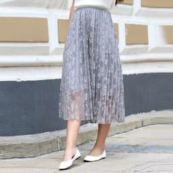 Chân váy ren xòe cao cấp-Hàng nhập