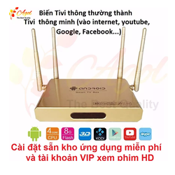 Android TV BOX 4 anten