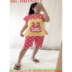 Đồ bộ nữ mặc nhà lửng hình gấu trúc panda đáng yêu DBTN516