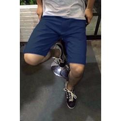 Đậu.Đậu - Quần short kaki màu xanh rêu - QSK_xanh đen