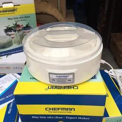 Máy làm sữa chua Chefman - 8 cốc nhựa