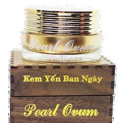 Kem yến dưỡng trắng da mặt ban ngày Pearl Ovum