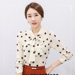 Áo sơ mi nữ công sở thời trang Hàn Quốc mới R162140