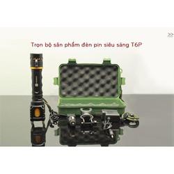 Đèn pin siêu sáng T6P đa chức năng