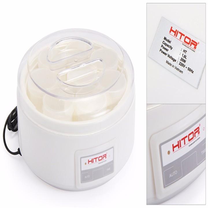 Máy làm sữa chua Hitops 8 cốc đa năng ủ tự động 3