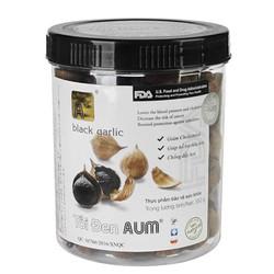 Tỏi đen cô đơn AUM nguyên vỏ hủ 350 gr Black Garlic