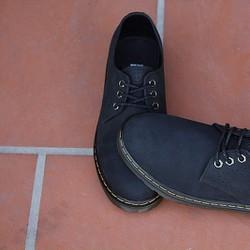 Giày Dr.men - VNXK cổ thấp đen búc
