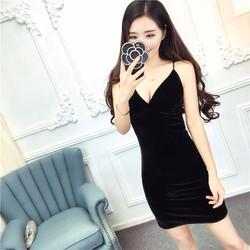 Đầm dây chéo sexy