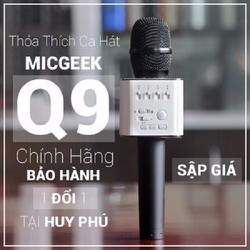 loa micro khong day bluetooth micro karaoke kiem loa q9