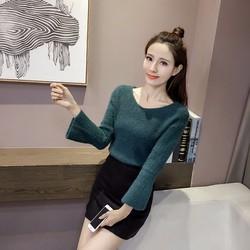 Áo len dệt kim nữ thời trang, màu sắc tinh tế, kiểu dáng hiện đại