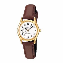 Đồng hồ nữ Casio chính hãng, dây da 1094Q-7B9