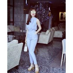 hàng cao cấp loại 1- áo cổ yếm Sn + quần baggy dài