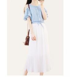 Váy teen phong cách Hàn TẶNG nơ cột tóc tai thỏ