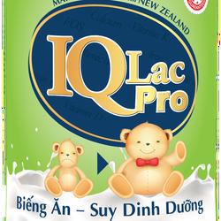 Sữa cho bé Biếng Ăn- Suy Dinh Dưỡng IQ LAC PRO- 900g