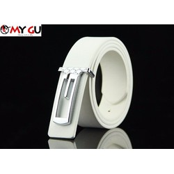 Thắt lưng thời trang phong cách TL12 - Màu trắng