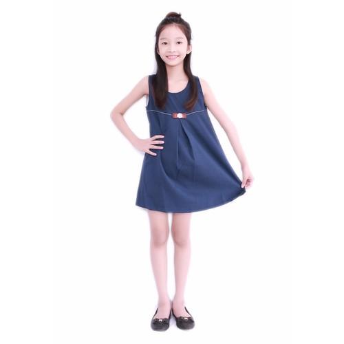 Đầm xòe dễ thương cho bé - Xanh Đen - CIRINO - 4169191 , 4979451 , 15_4979451 , 185000 , Dam-xoe-de-thuong-cho-be-Xanh-Den-CIRINO-15_4979451 , sendo.vn , Đầm xòe dễ thương cho bé - Xanh Đen - CIRINO