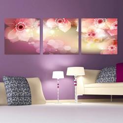 Tranh đồng hồ trang trí nội thất- tranh đồng hồ treo tường đẹp
