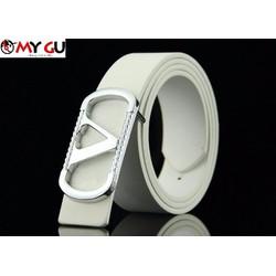 Thắt lưng thời trang phong cách TL15 - Màu trắng