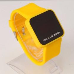Đồng hồ led cảm ứng mặt vuông