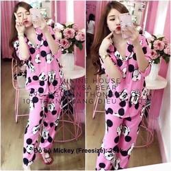 Bộ pijama micky