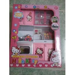 Đồ chơi nhà bếp Hello Kitty đèn nhạc