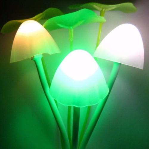Đèn ngủ cảm ứng 3 cây nấm
