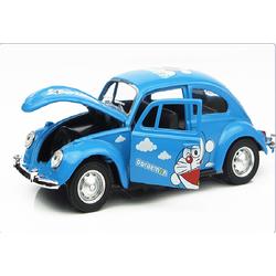 Mô hình xe Beetle Doraemon cho các bạn bày nhà búp bê