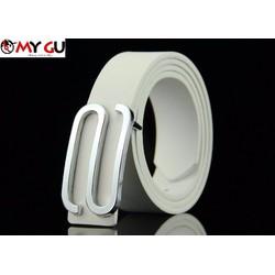 Thắt lưng thời trang phong cách TL16 - Màu trắng