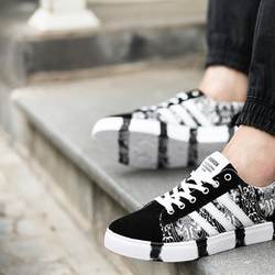 Giày thể thao - Giày vải buộc dây nam