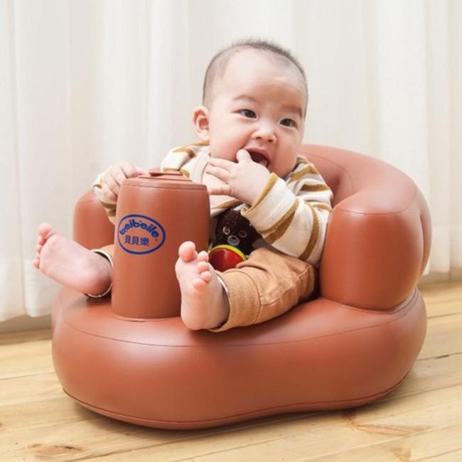 Ghế hơi tập ngồi cho bé bơm tự động 7