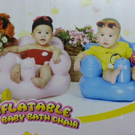 Ghế hơi tập ngồi cho bé bơm tự động 2