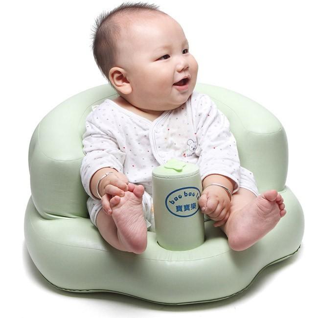 Ghế hơi tập ngồi cho bé bơm tự động 5