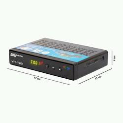 Đầu thu truyền hình kỹ thuật số mặt đất DVB T2 - VTC T201 80 kênh