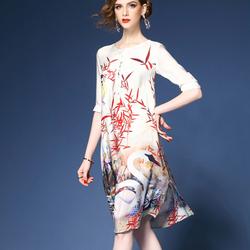 Đầm nữ họa tiết độc đáo NV988