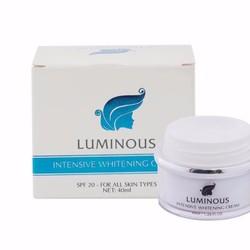Kem Face LUMINOUS - Dưỡng trắng chuyên sâu, make up nhẹ cho da