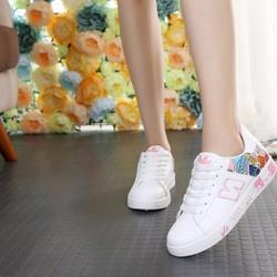 Giày Thể Thao hoa thời trang cao cấp Hàng Nhập