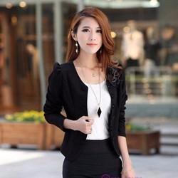 Áo khoác nữ thời trang nhiều màu lựa chọn
