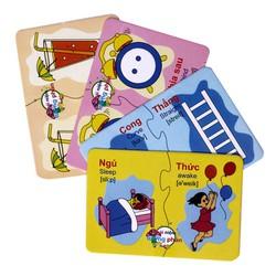 Bộ thẻ học thông minh 16 chủ đề - 416 thẻ