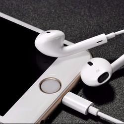 Tai nghe iPhone 7 cổng Lightning Hàng bóc máy