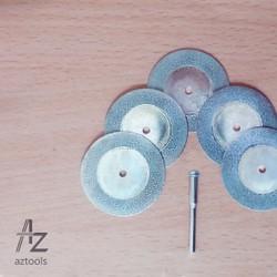 Combo 5 lưỡi cắt hợp kim đường kính 40mm