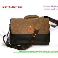 Túi xách laptop phối màu trẻ trung sành điệu TXLC27