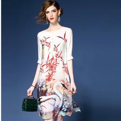 Đầm nữ họa tiết độc đáo DV9888