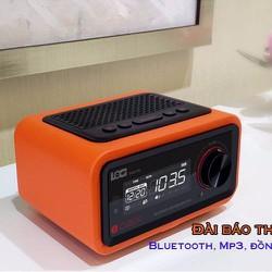 Loa Bluetooth đài FM Radio Đồng hồ báo thức LOCI Smartlife