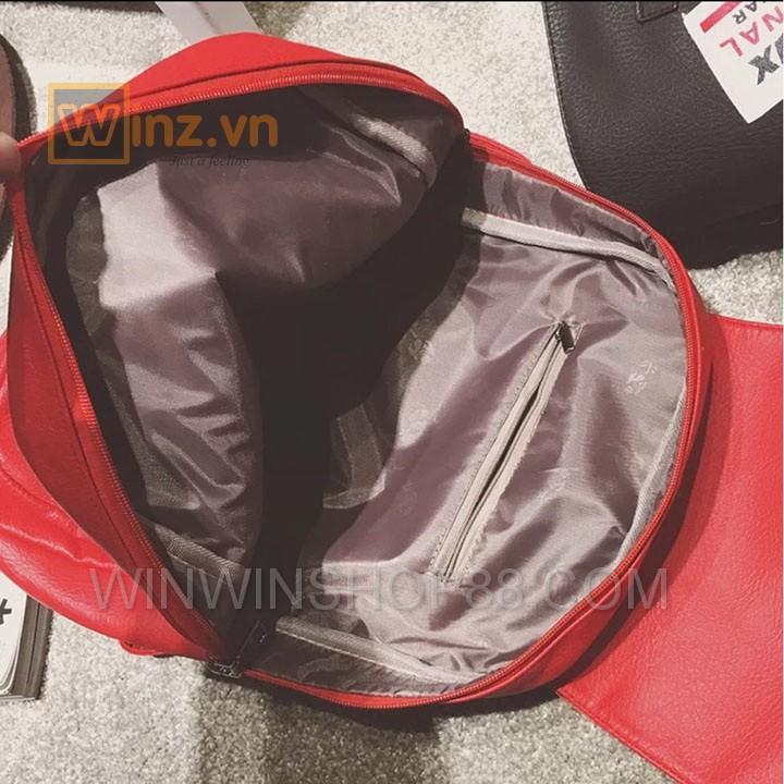 Balo Da Thời Trang Bl208 Màu Đỏ cung cấp bởi Winwinshop88 14