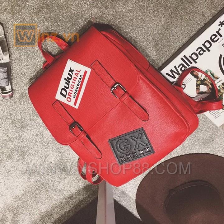 Balo Da Thời Trang Bl208 Màu Đỏ cung cấp bởi Winwinshop88 16