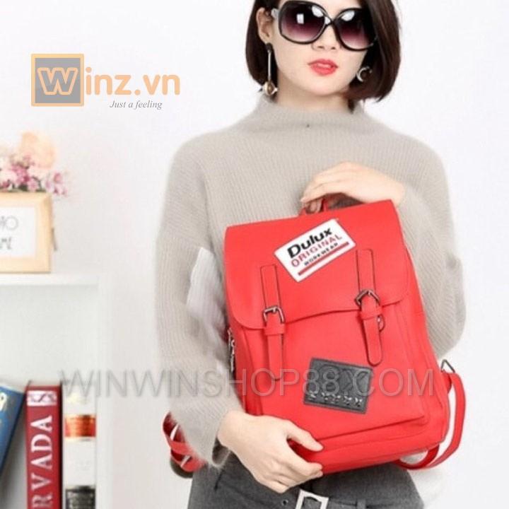 Balo Da Thời Trang Bl208 Màu Đỏ cung cấp bởi Winwinshop88 12