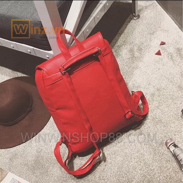 Balo Da Thời Trang Bl208 Màu Đỏ cung cấp bởi Winwinshop88 15