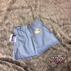 Chân váy jean size s,m,l - A29041