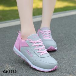 Giày thể thao phối hồng trẻ trung thời trang êm chân