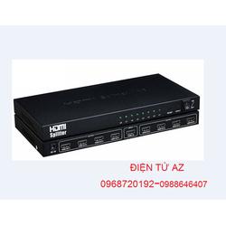 Bộ chia cổng HDMI 1 ra 8 Full HD 1.3b, 3D 1080P Chính Hãng OMEGA HDSP8